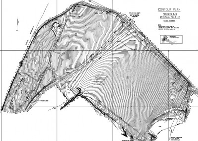 Westervelt Land Surveyors Contour Plan