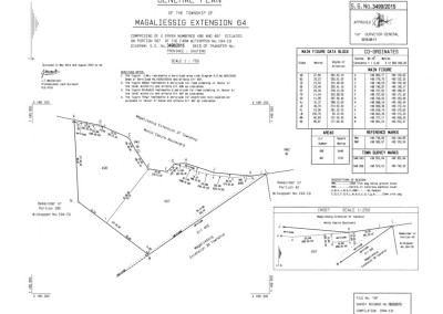 Westervelt Land Surveyors General Plan