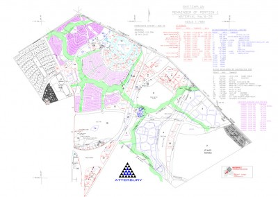 Westervelt Land Surveyors Scetch Plan